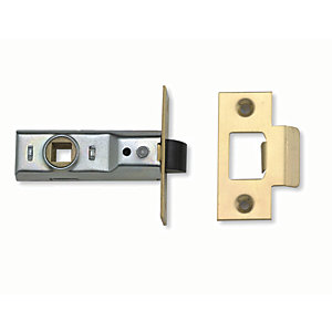 Yale P-M888-PB-76 Tubular Latch 76mm Brass