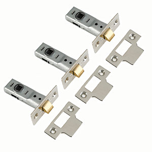 Yale P-M888-BZ-64-3 2 Tubular Latch 64mm Chrome Pack 3