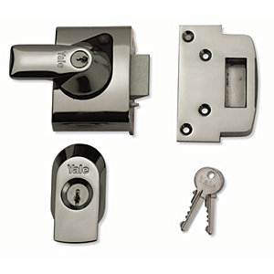 Yale P-BS2-CH-CH-40 British Standard Nightlatch 40mm Chrome