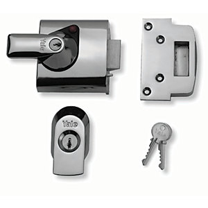 Yale P-BS1-CH-CH-60 British Standard Nightlatch 60mm Chrome