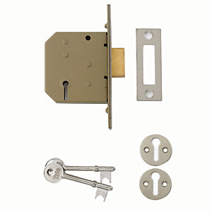 Yale P-M322-CH-65 3 Lever Deadlock 64mm Chrome