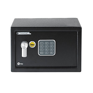 Yale YSV/200/DB1 Electronic Value Compact Safe 8.6 Litre Black
