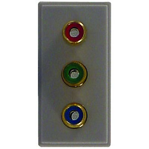 Wickes Triple RGB/Component Video Connector