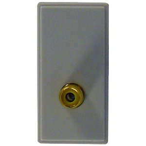 Wickes Single Video Connector