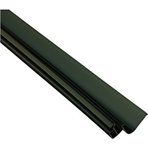 Wickes Brown Universal Edge Flashing for Polycarbonate Sheets 3000mm