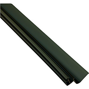 Wickes Brown Universal Edge Flashing For Polycarbonate Sheets 4000mm