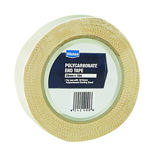 Wickes Anti-Dust Polycarbonate Tape 28mmx10m