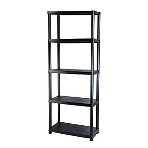 Addis 5 Tier Heavy Duty Plastic Shelving Unit