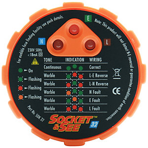 Socket and SEE SOK32 Socket Tester