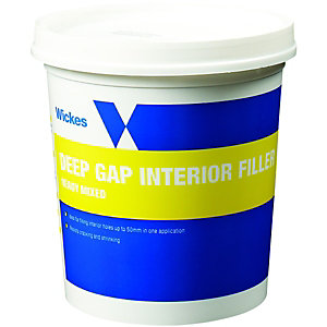 Wickes Deep Gap Interior Filler 1L