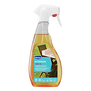 Wickes Teak Oil Trigger Spray 500ml