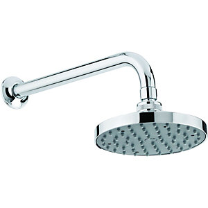 Wickes Sphere Wall Fixed Shower Head