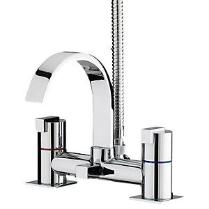 Bristan Verdiso Bath Shower Mixer Chrome