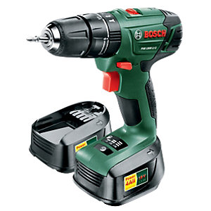 Bosch 18V LI-ION Cordless Combi Drill PSB 1800 With 2 Batteries