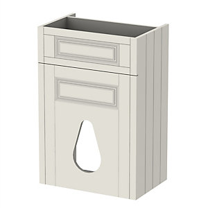 Be Modern Atlanta Classic WC Unit Unit Ivory 550mm