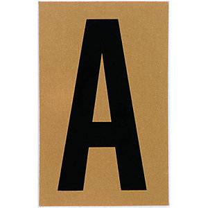 Wickes Self Adhesive Vinyl Letter A