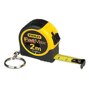 Stanley Keychain Tape Measure 2m