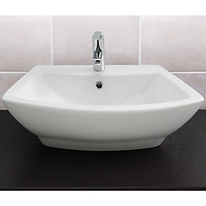 Wickes Sesto Deep Rectangle Basin 635mm