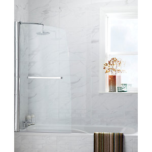 Wickes Herston Calacatta Gloss Ceramic Wall Tile 248x498mm