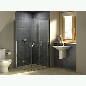 Wickes Tuscan Rustic Grey Satin Ceramic Wall Tile 148x148mm