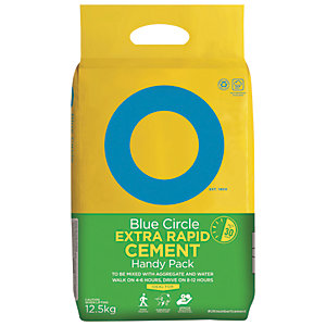 Blue Circle Extra Rapid Cement 12.5kg Mixer Bag
