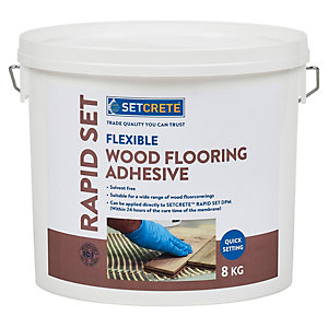 Setcrete Flexible Wood Flooring Adhesive 8kg