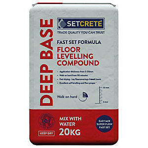 Setcrete Deep Base Floor Levelling Compound 20kg