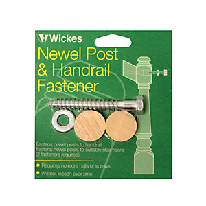 Wickes Newel Post And Handrail Fastener Kit