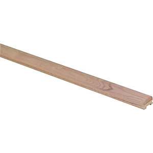 Wickes Solid Oak Handrail For 32mm Spindles 3600mm