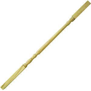 Wickes Solid Oak Traditional Spindle 32x900mm Pack 10
