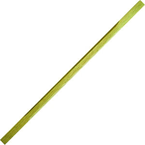 Wickes Solid Oak Stop Chamfered Spindle 32x900mm Pack 10