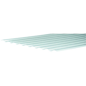 Wickes PVCu Clear Corrugated Sheet 660x2400mm