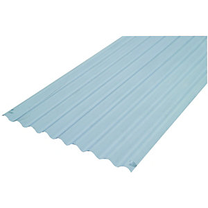 Wickes PVCu Clear Corrugated Sheet 660x3000mm