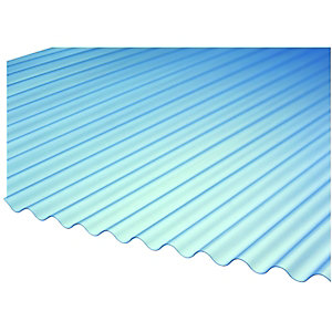 Wickes Mini Profile Corrugated Sheet 660x2400mm