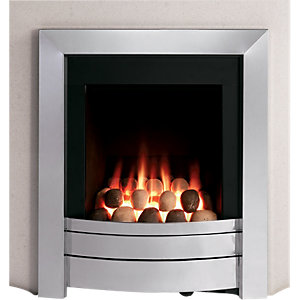 Sahara Multiflue Polished Gas Fire