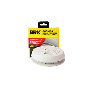 Brk Mains Optical Smoke Alarm