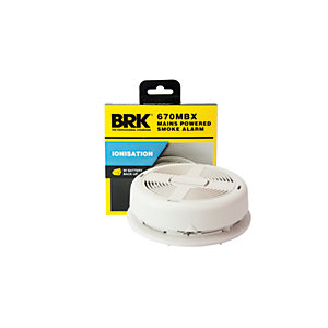 Brk Mains Ionisation Smoke Alarm