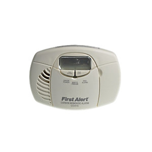 Wickes Battery Operated LCD Display Carbon Monoxide Alarm