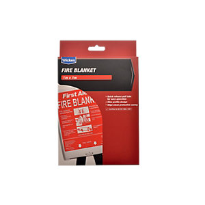 Wickes General Purpose Fire Blanket 1000x1000mm