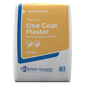 British Gypsum Thistle One Coat Plaster 12.5kg