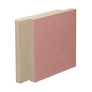 British Gypsum Gyproc Fireline Board Straight Edge 2400mm x 1200mm x 15.0mm