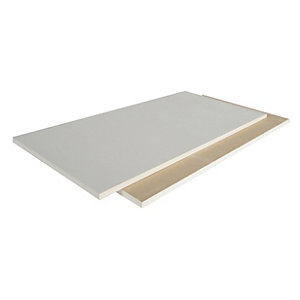 British Gypsum Gyproc Plasterboard Square Edge 12.5mm 2700mm x 1200mm (3.24m²/Sheet)