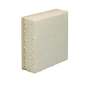 British Gypsum Gyproc Thermaline Basic Plasterboard Tapered Edge 2400mm x 1200mm x 22mm (2.88m²/ Sheet)