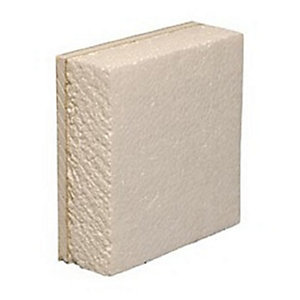 British Gypsum Gyproc Thermaline Basic Plasterboard Tapered Edge 2400mm x 1200mm x 40mm (2.88m²/ Sheet)