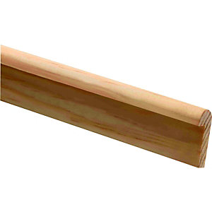 Wickes Pine Hockey Stick Moulding FB376 8x20x2400mm