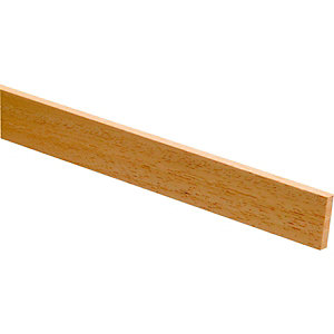 Wickes Light Hardwood Stripwood 6 x 18 x 2400mm
