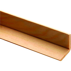 Wickes 13mm Pine Angle Moulding FB294 2400mm
