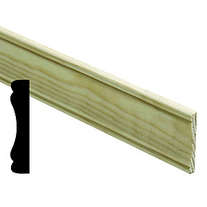 Wickes Pine Panel Moulding FB263 7x56x2400mm