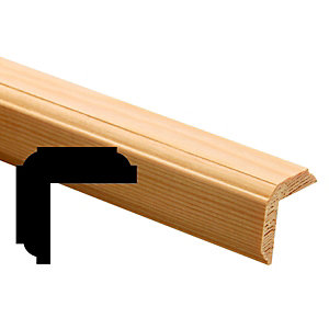 Wickes20mm Pine Windsor Angle Moulding FB457 2400mm