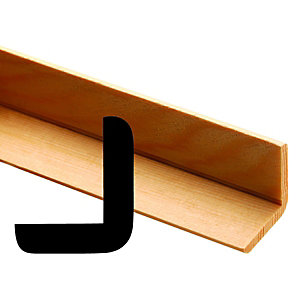Wickes 40mm Pine Angle Moulding FB1091 2400mm